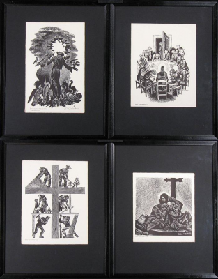 fritz-eichenberg-wood-engraving-prints