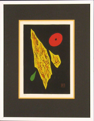 Haku Maki Limited Edition Woodblock: Poems 71-28
